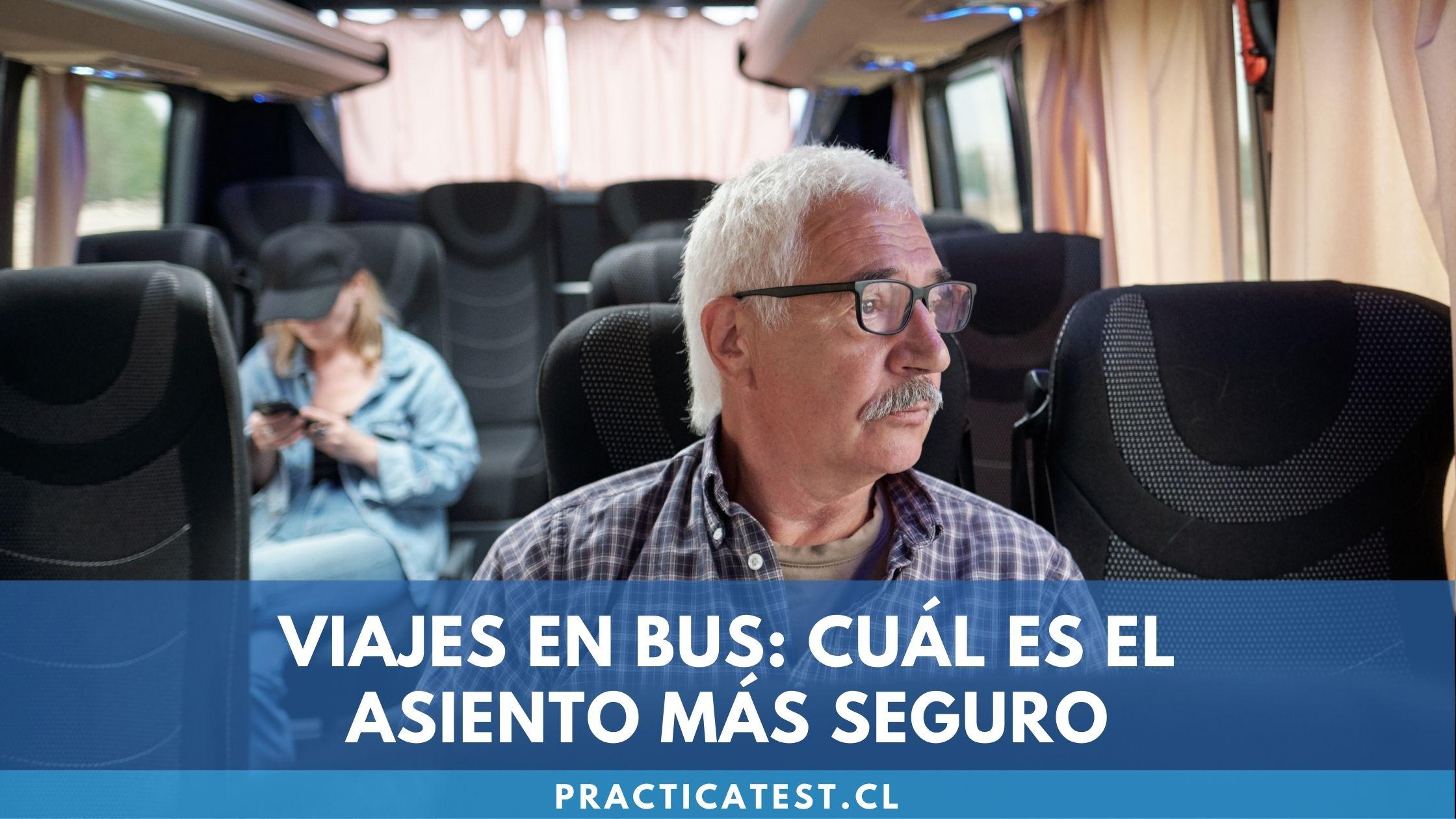 Cómo aumentar la seguridad en tus viajes en bus escogiendo los asientos seguros