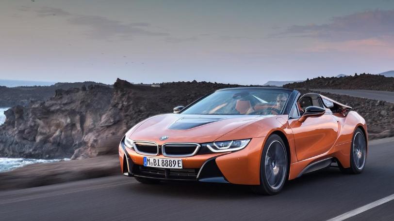 BMW i8 auto de tipo eléctrico y sofisticado en el mercado chileno disponible en el 2020