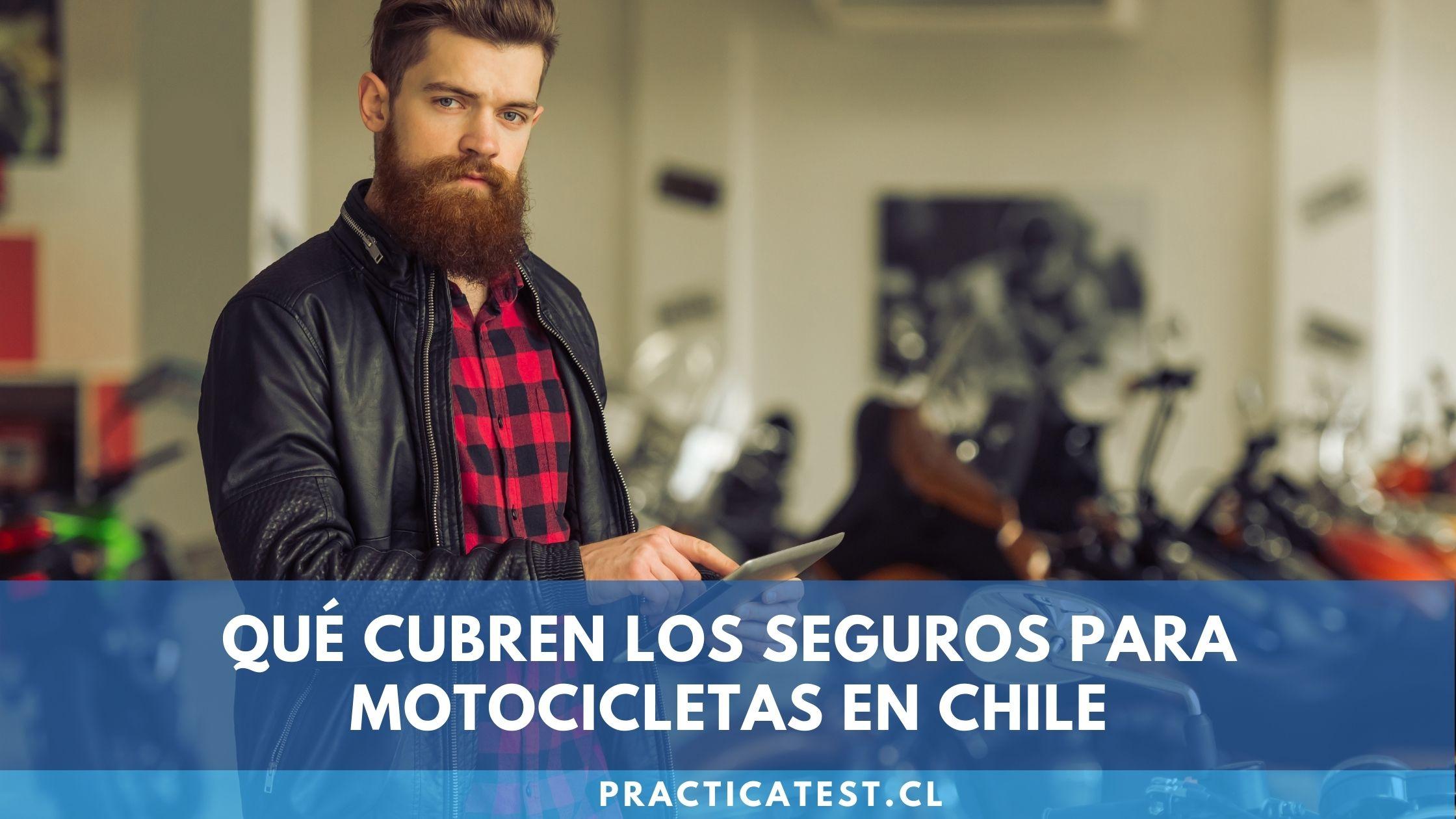Qué cubre un seguro de motocicleta y cómo puedo contratarlo en 2021 en Chile