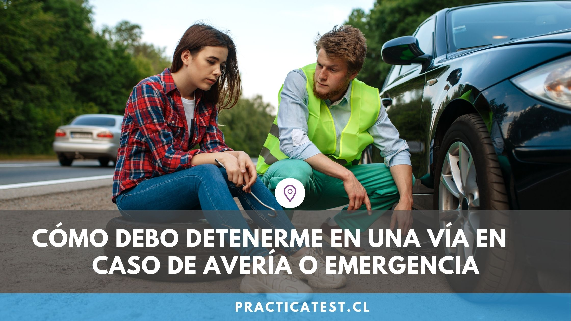 Cómo detenerme en medio de la carretera si he sufrido una avería o emergencia