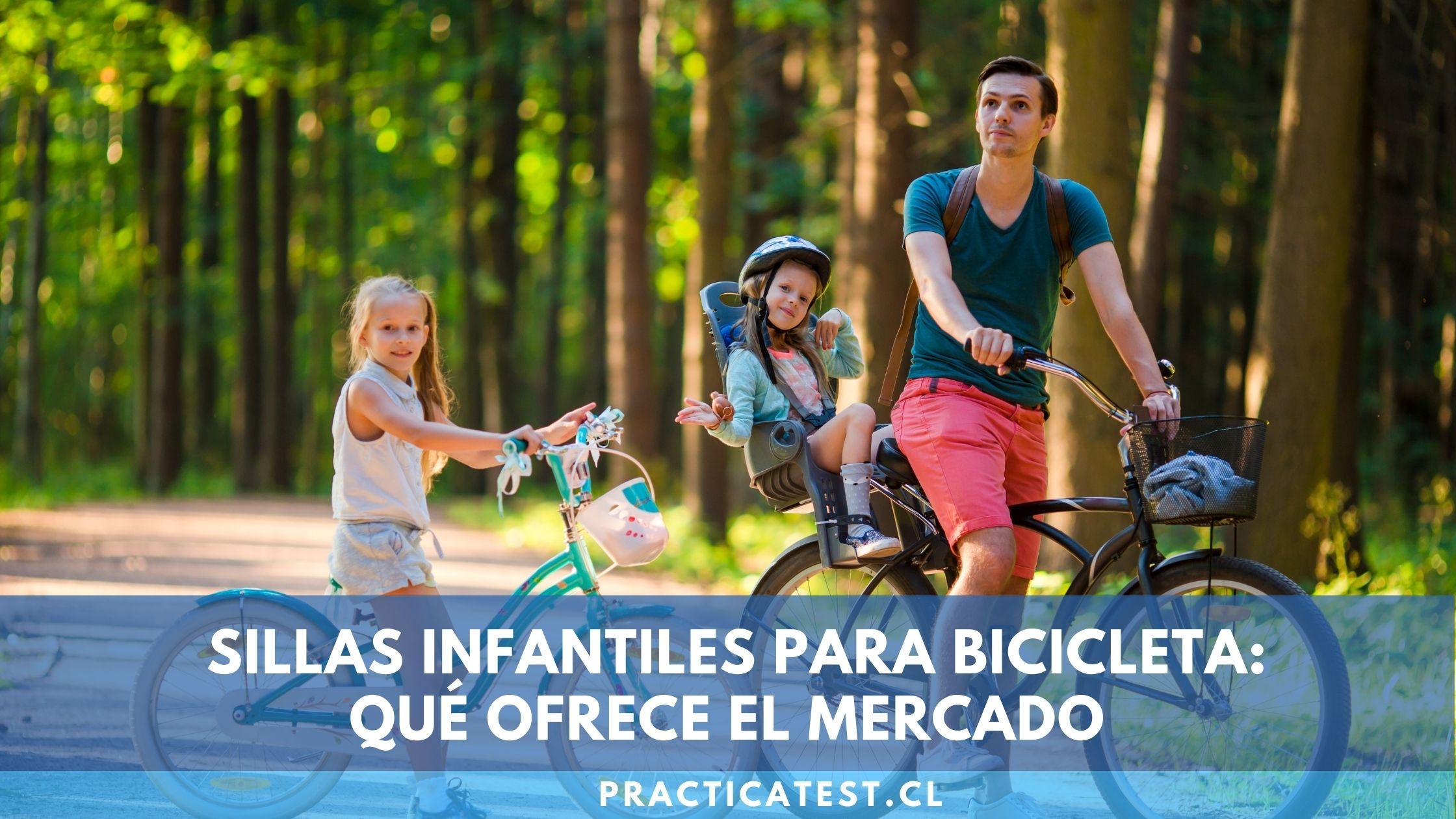 Cómo llevar a un niño en bicicleta según su edad y peso: Silla, carro de arrastre o barra