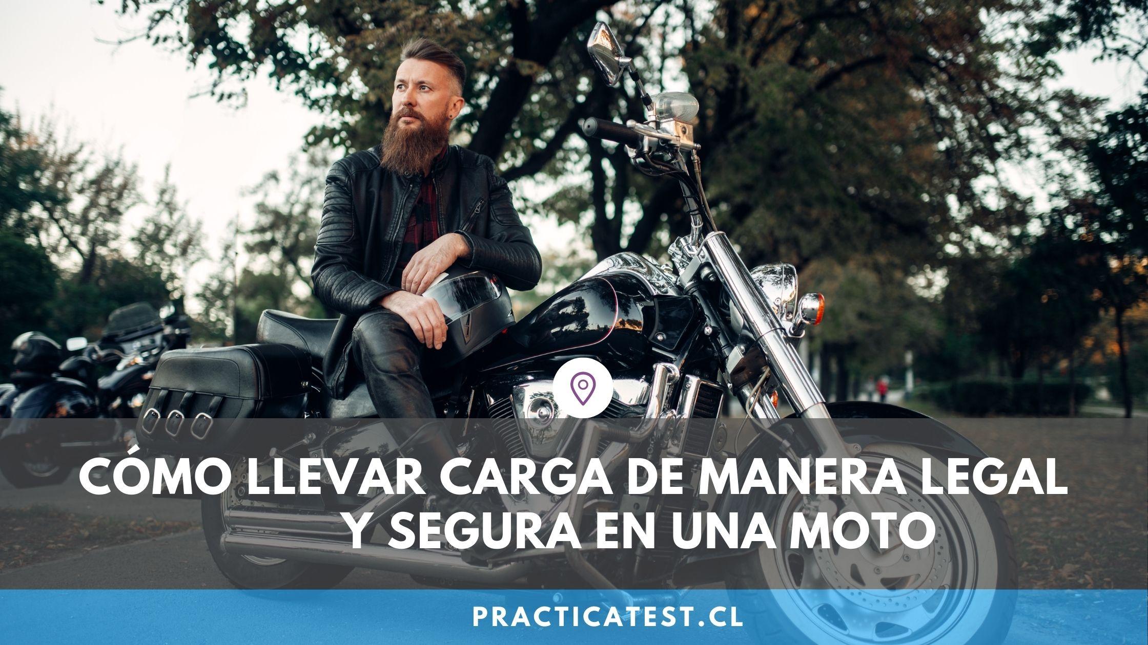 Cómo colocar la carga que llevo en la motocicleta y normativa de seguridad