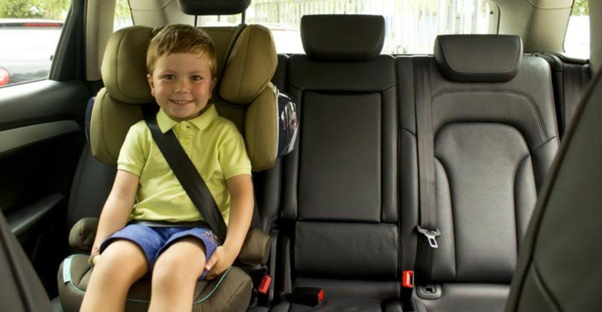 Cómo evitar que los pequeños sufran lesiones en caso de sufrir un accidente en el auto