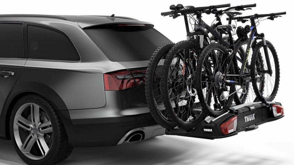 Dispositivos porta bicicleta en el techo o parte trasera del vehículo y multas por no usar