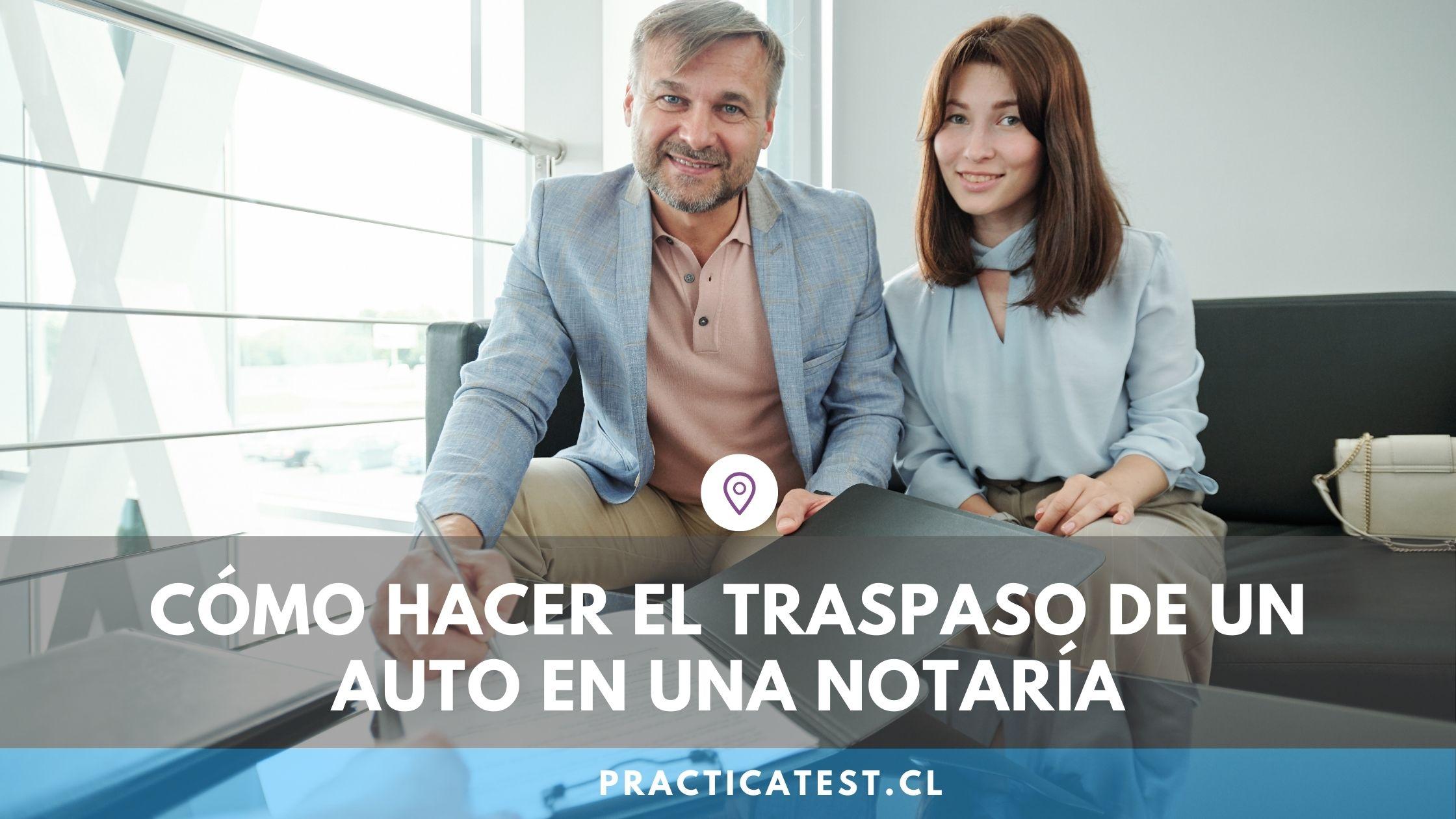 Cómo realizar el traspaso de un auto o motocicleta usada en una notaría de Chile