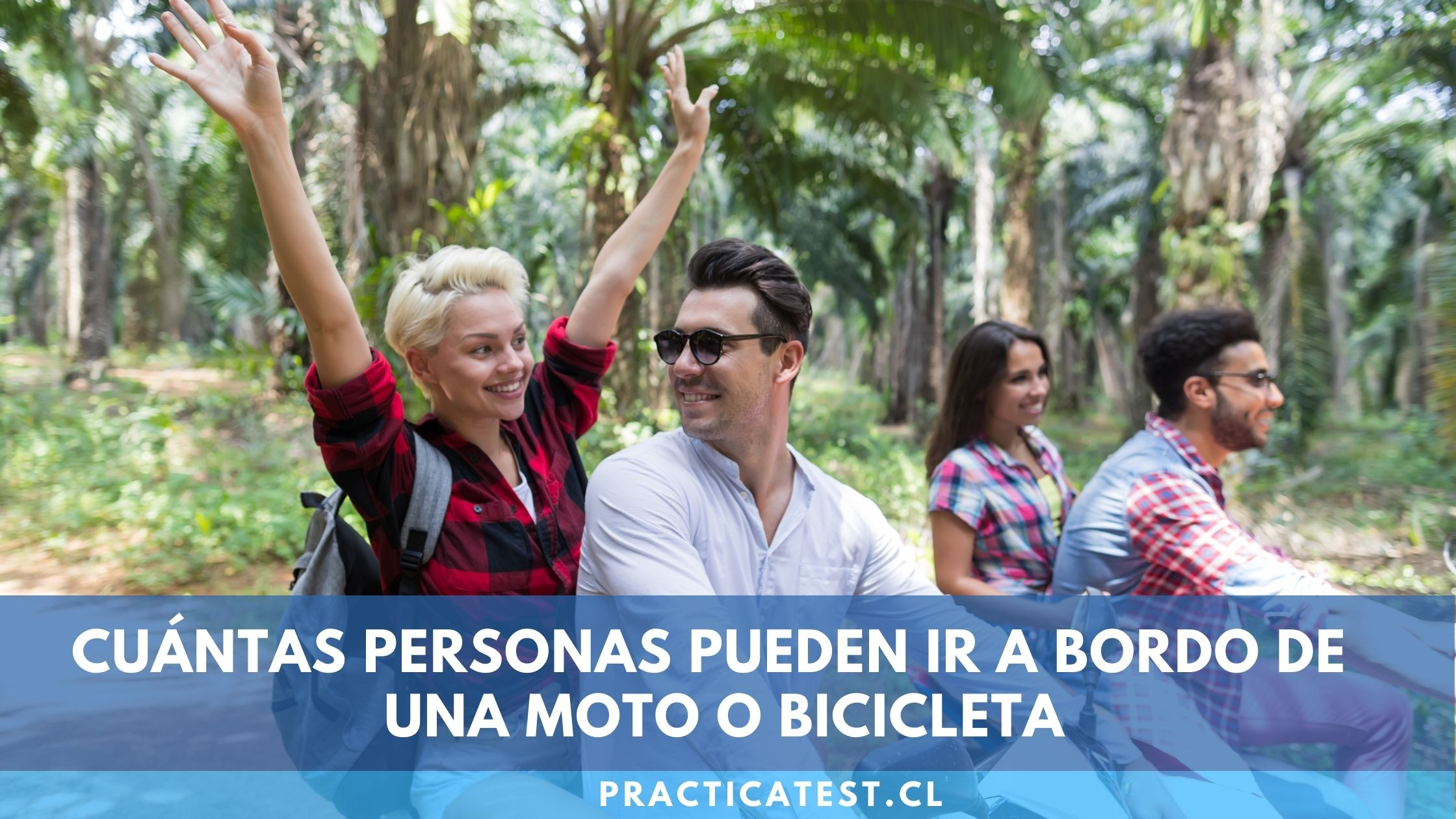 Máximo número de pasajeros permitido en una bicicleta o motocicleta y multas
