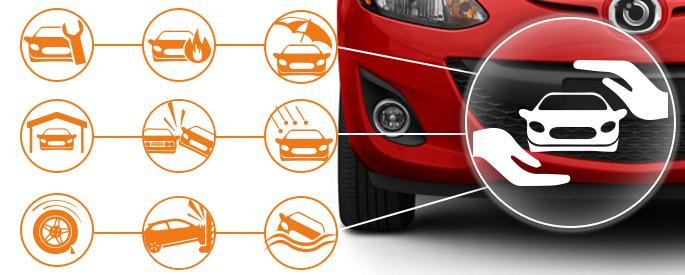 Seguro del vehículo con deducible que bajará el valor de la prima o sin deducible