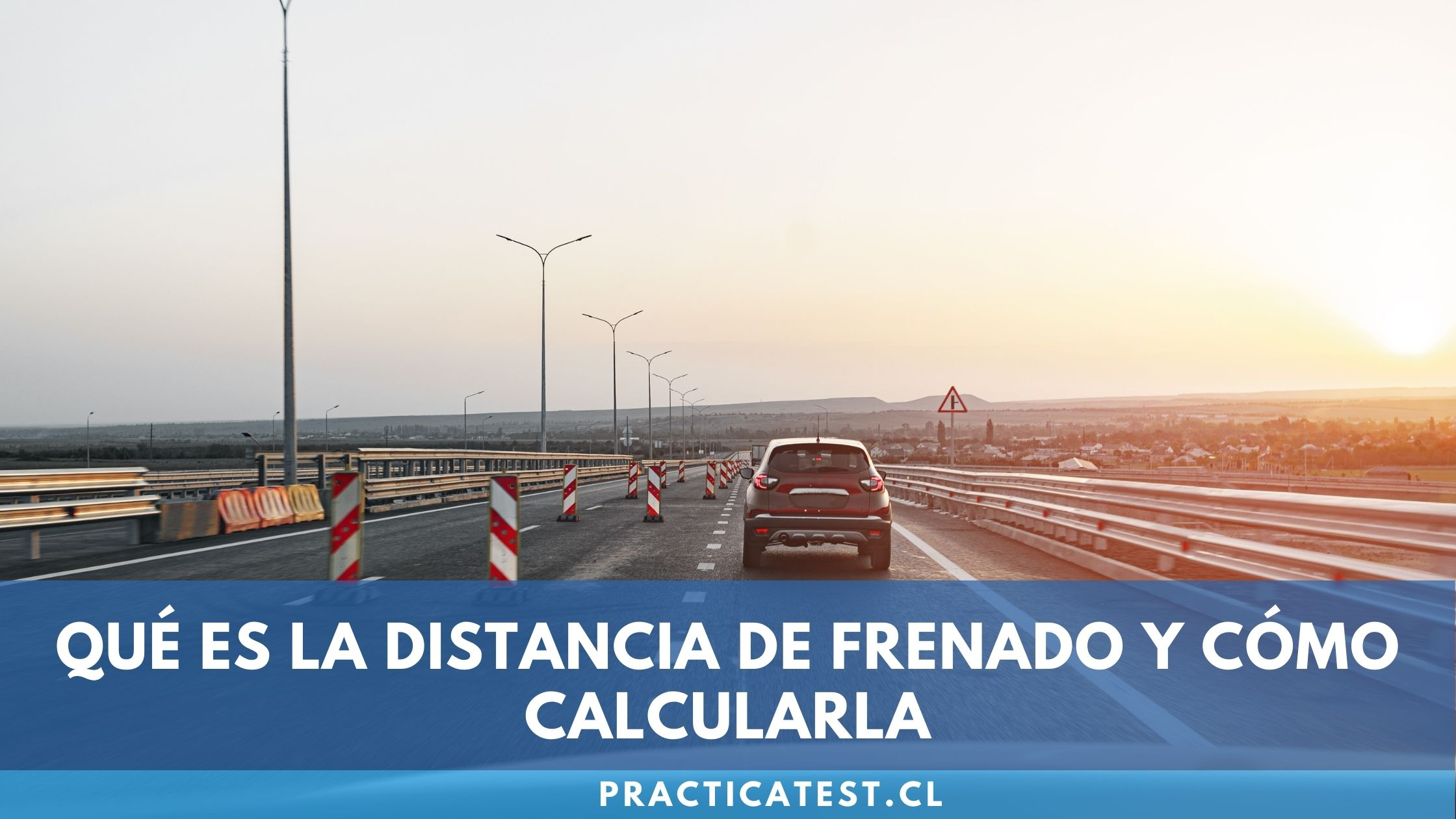 Factores que afectan a la distancia de detención del auto y cómo puedes calcularla