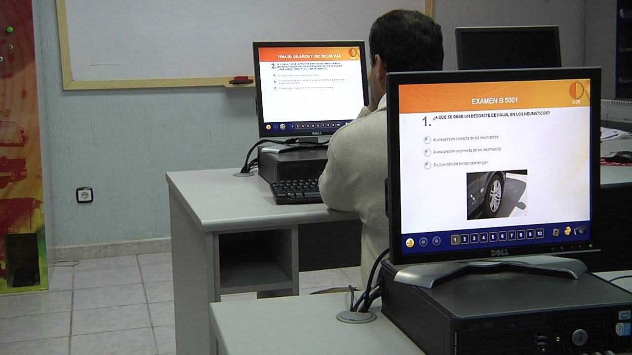 Cómo es el examen teórico para la clase A profesional A1, A2, A3, A4 o A5 y preguntas.