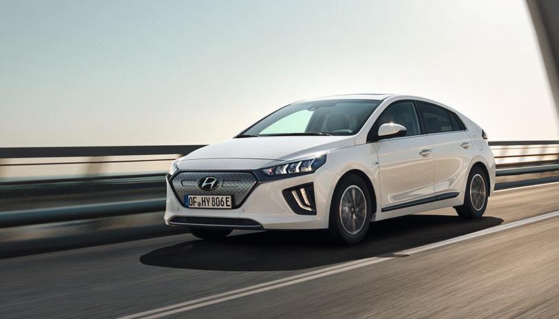 Hyundai Ioniq auto 100 por 100 eléctrico con gran presencia en las ventas del mercado