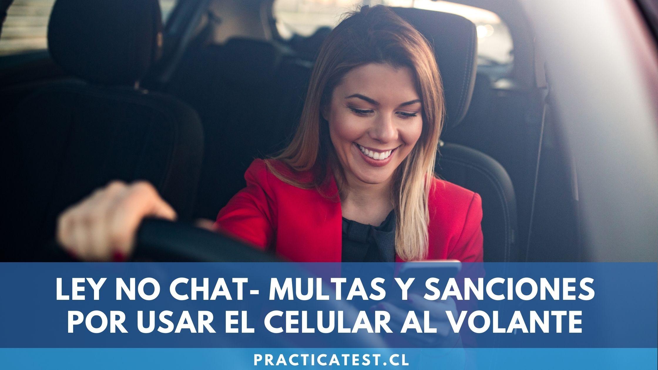 Cómo me afecta la ley no-chat por la que no se puede usar el celular al volante