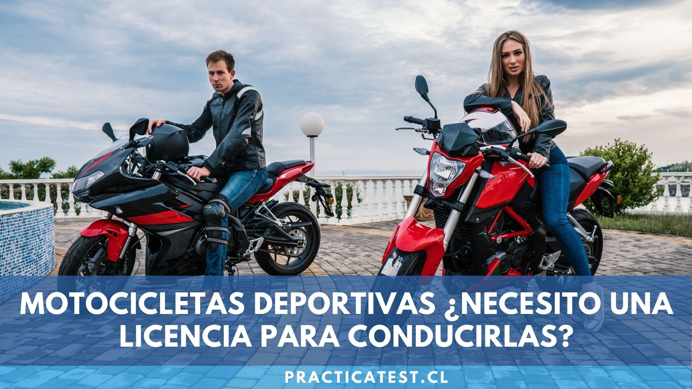 Tipo de licencia necesaria para manejar una motocicleta deportiva en Chile y Revisión
