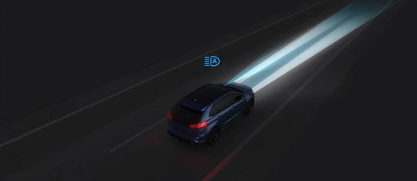 Luces altas para permitir que el conductor visualice mejor el entorno hacia adelante