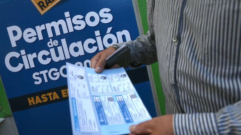 Poner al día el pago del permiso de circulación chileno
