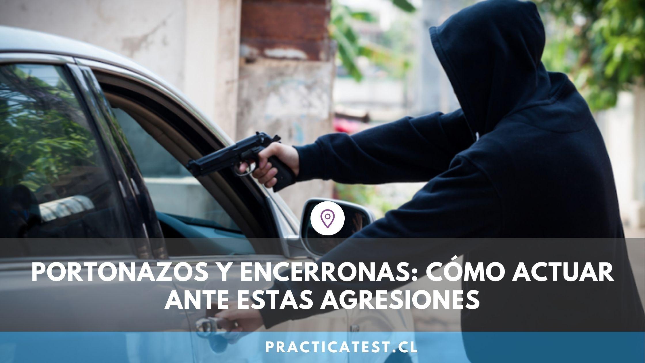 Cómo actúan los ladrones en caso de encerrona o portonazo y cómo podemos prevenir