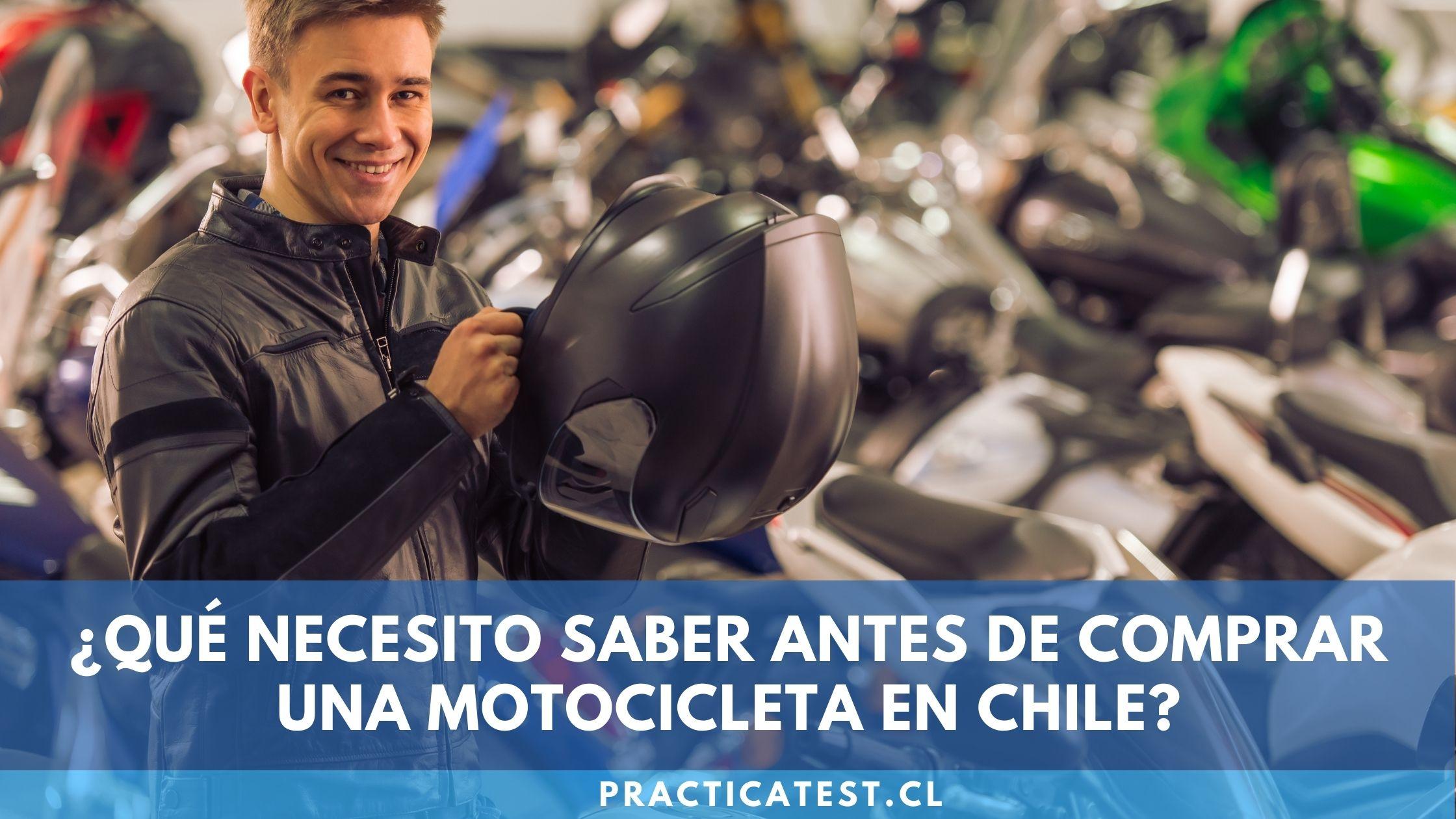Información necesaria para comprar una motocicleta como certificado de homologación