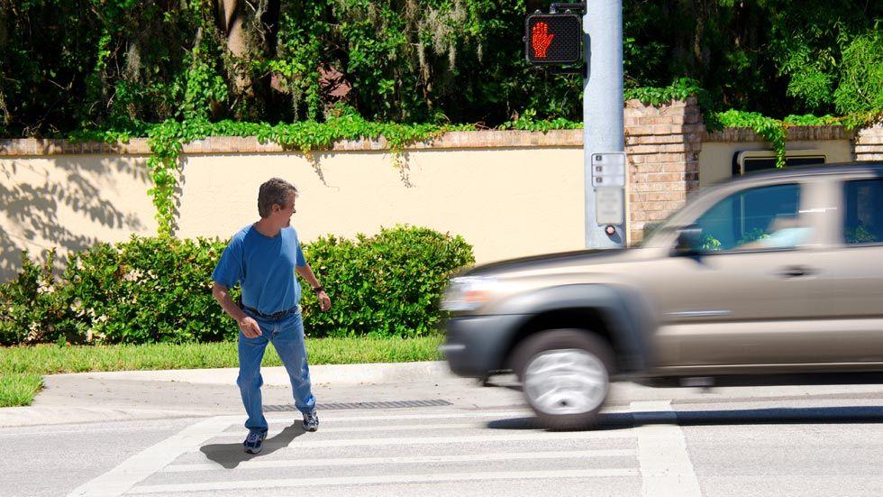 Cómo se presume la culpabilidad del peatón o el conductor en caso de atropello