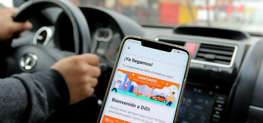 Como ser socio conductor en la app de transporte DiDi para Chile