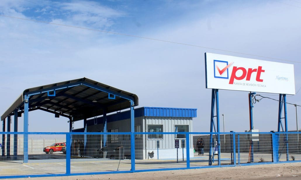 En qué consiste la revisión técnica de un carro de arrastre en una PRT en Chile