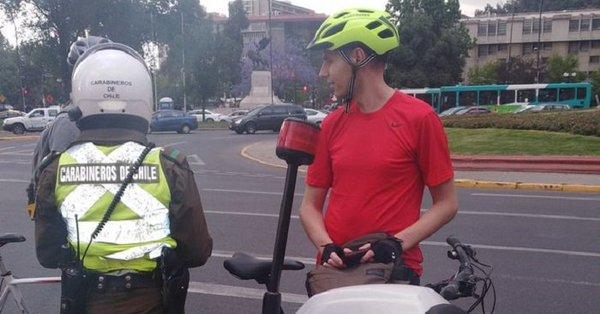 Multas económicas que sufrirán los conductores de bicicleta en las vías públicas de Chile