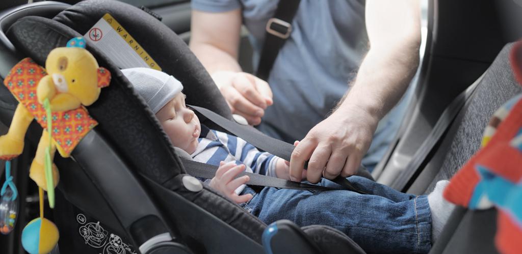 Sistemas de retención infantil afectados en los accidentes con pérdida total