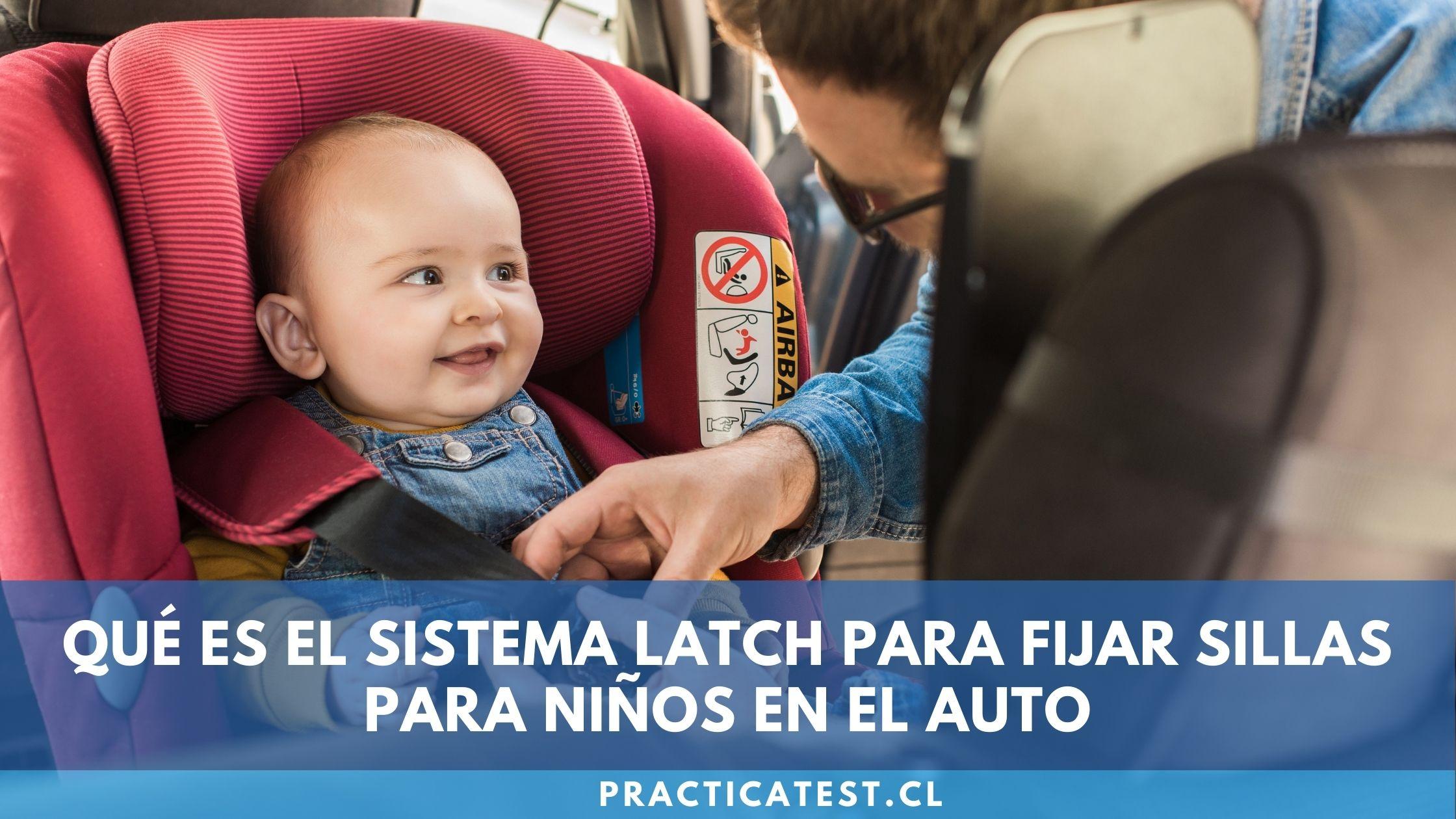 Diferencias entre sistema Latch e Isofix en un sistema de retención infantil para auto.