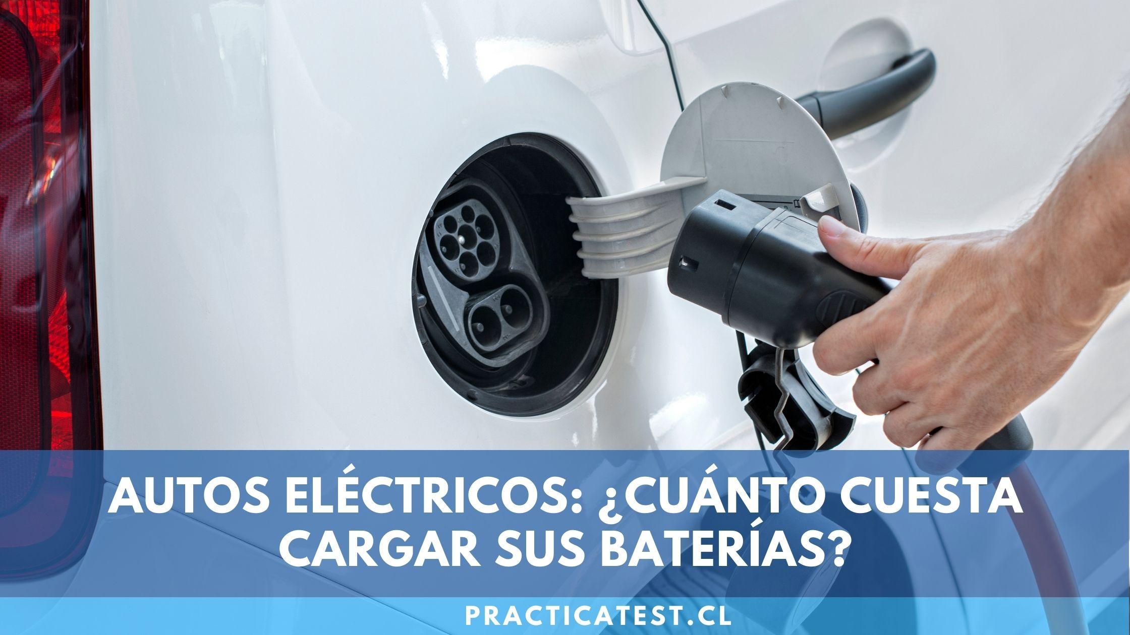 Funcionamiento de las baterías de un vehículo eléctrico y cuanto tarda en cargarse