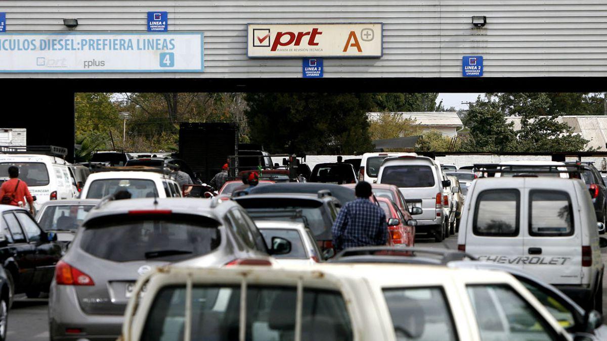 Costo de la revisión técnica de tu auto en cada una de las plantas de PRT en Santiago