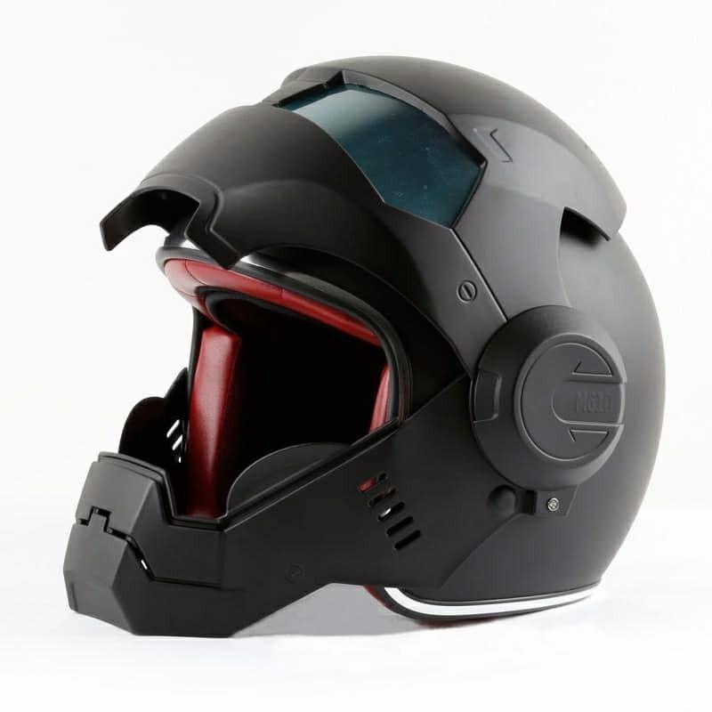 Modelo de casco de motocicleta seguridad para la cabeza del conductor