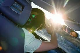 Ceguera temporal que hace que la visibilidad del conductor sea nula