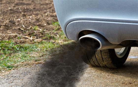 Sistema de escape del vehículo que en mal estado puede generar intoxicación